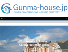 Tablet Preview of gunma-house.jp